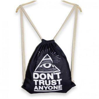 กระเป๋าเป้สะพายหลังลายลูกตา รุ่น DY