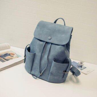 กระเป๋าเป้สะพายหลังแฟชั่น รุ่น JL601 สีฟ้า