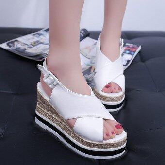 hion casual high heels sandals Women's Wedges slides Mules - intl