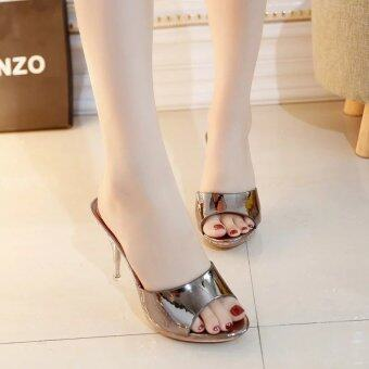 Hot Sale!!! Sexy Shoes Women Summer Fashion High Heel Sandals Women Slippers Ladies Shoes Size 35-39 - intl
