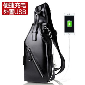 I เกาหลีชายน้ำถุงแพ็คเก็ต (USB เทคโนโลยีสีดำ)