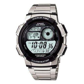 Casio Standard นาฬิกาข้อมือ - รุ่น AE1000WD-1A (Silver)