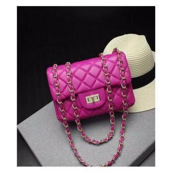 กระเป๋าถือ กระเป่าสะพายข้าง สำหรับผู้หญิง No.919 - สีม่วง