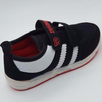 Alice Shoe รองเท้าผ้าใบ แฟชั่นเด็กผู้ชาย และ ผู้หญิง รุ่น SKL135-BK(สีดำ)