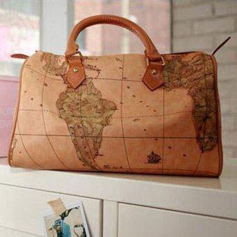 MATTEO กระเป๋าผู้หญิง กระเป๋าถือสุภาพสตรี B1118 - Brown