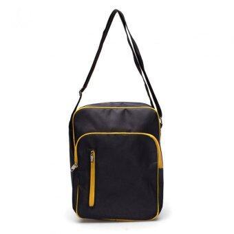 DM กระเป๋าสะพายกันน้ำ 1680 สีดำเหลือง