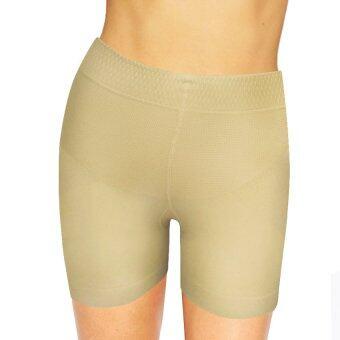 Marytex กางเกงขาสั้นเก็บกระชับหน้าท้องยกสะโพก (สีเนื้อ)