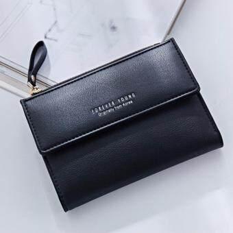 B'nana Beauty กระเป๋าสตางค์ใบยาว กระเป๋าเงินผู้หญิง กระเป๋าตังตามวันเกิด กระเป๋าสตางค์น่ารัก กระเป๋าตังสวยๆ รุ่น GC-11 (สีดำ)