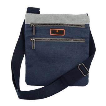 กระเป๋าสะพายสีกรมท่า Pierre Cardin รุ่น PS4-SIM2040 BL