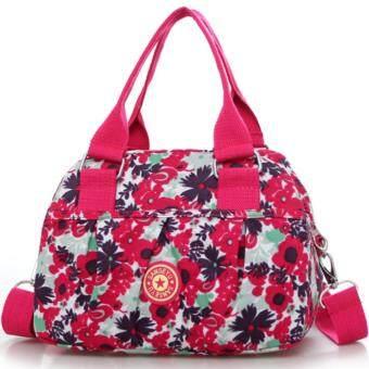 RICHCOCO กระเป๋าสะพาย เนื้อผ้าไนลอนกันน้ำ Waterproof Nylon Crossbody Handbag (001)