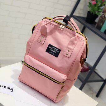 Marverlous กระเป๋า กระเป๋าเป้ กระเป๋าสะพายหลัง Backpack No2017 - Pink