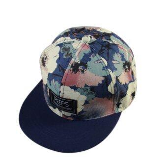 เพศหมวกเบสบอลฮิปฮอป Snapback ปรับได้ใส่หมวกเก๋ลายกรมท่า-ระหว่างประเทศ