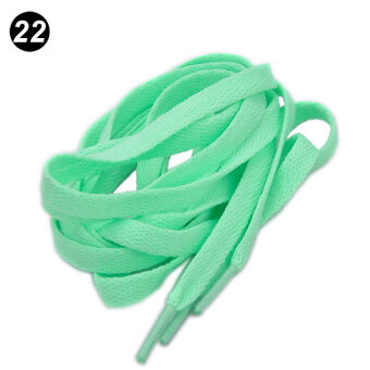 Harga 1 Pair Oval Athletic 120cm Shoelaces Sport Sneaker Boots Shoe Laces Strings - intl