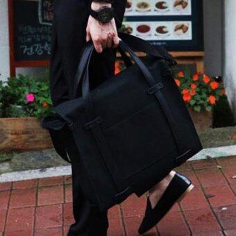 Osaka กระเป๋าสะพายไหล่ หรือถือ รุ่น NE84 - BLACK