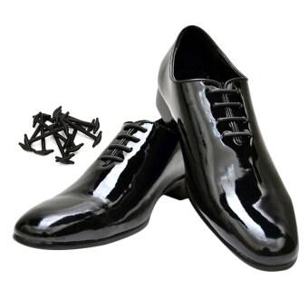 coolnice 10ชิ้นใหม่ไม่ผูกเชือกรองเท้ายางซิลิโคนใหม่ที่ผูกเชือกรองเท้าสำหรับผู้หญิงผู้ชาย