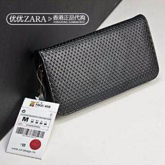 A-shop กระเป๋าใส่เช็ค กระเป๋าเงิน กระเป๋าหนังทรงยาว กระเป๋าสตางค์ ZARA8336-B