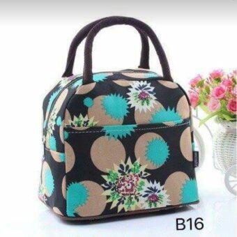 กระเป๋าผ้าแคนวาส รุ่น BeautyQuick Shop-B16