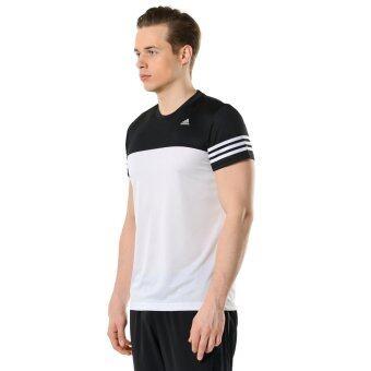 ADIDAS เสื้อยืด กีฬา อาดิดาส T-Shirts Base Mid Tee AJ5757 (990)