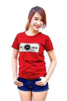 Live เสื้อยืด รุ่น ALL STAR (สีแดง)