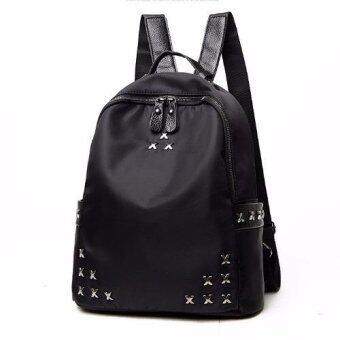 B'nana Beauty กระเป๋าเป้สะพายหลัง กระเป๋าเป้เกาหลี กระเป๋าสะพายหลังผู้หญิง backpack women รุ่น GB-08 (สีดำ)