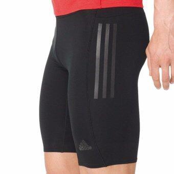ADIDAS กางเกง วิ่ง อาดิดาส Men Short Tights Super Nova S94401 BK(1390)