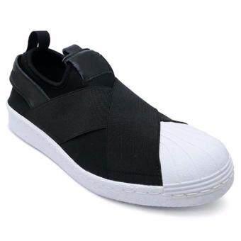 AIR MOVE รองเท้าผ้าใบผู้หญิง Superstar Slip on (Black)
