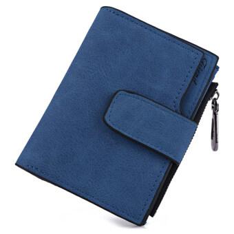 MATTEO กระเป๋าเงิน กระเป๋าสตางค์ ผู้หญิง 3 ชั้น Friend (สีน้ำเงิน)