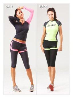 Harga yogis 127 neon line crob pants leggings made in korea