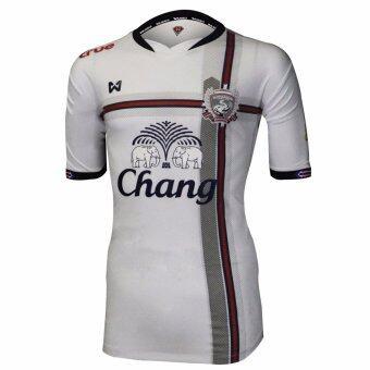 WARRIX SPORT เสื้อสโมสรสุพรรณบุรี เอฟซี WA-SP50M สีขาว