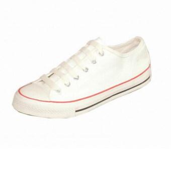 Mashare รองเท้าผ้าใบแฟชั่น มาแชร์ US รุ่น 191 สีครีมแดง