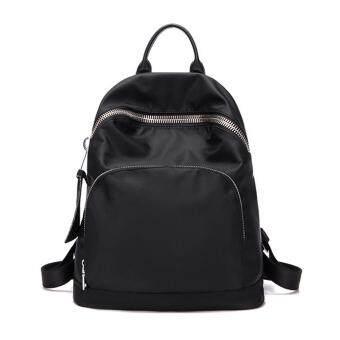 Little Bag กระเป๋าเป้สะพายหลัง กระเป๋าเป้เกาหลี กระเป๋าสะพายหลังผู้หญิง backpack women รุ่น LP-122 (สีดำ)