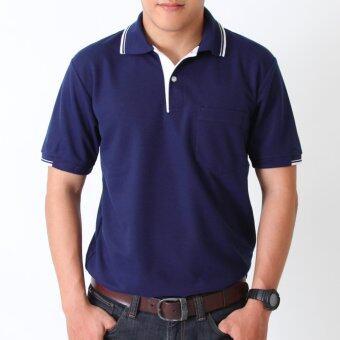 POLOMAKER เสื้อโปโล KanekoTK PK066 สีกรมท่า (Male)
