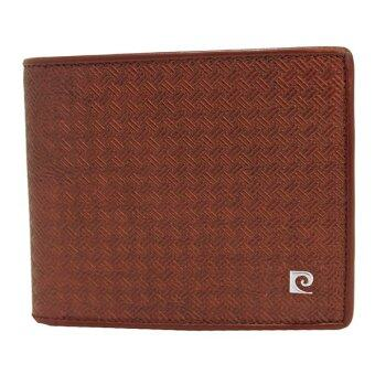 Pierre Cardin กระเป๋าสตางค์ รุ่น PWJ3-SPL42 BN (สีน้ำตาล)