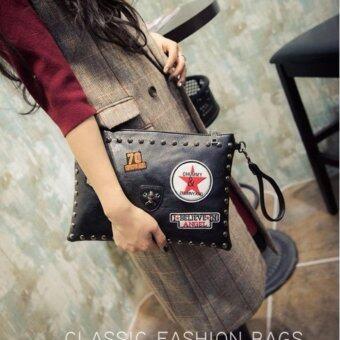 Alice BG446 กระเป๋าคลัชท์ สีดำ
