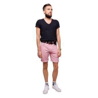 PHIL กางเกงขาสั้น รุ่น PP13SH001LRD - สีแดงอ่อน