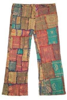 Princess of Asia กางเกงข้าม้าผ้าต่อเนปาล (โทนสีน้ำตาล)