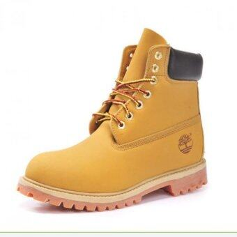 Harga Timberland Ankle Boots for Men (Yellow) - intl
