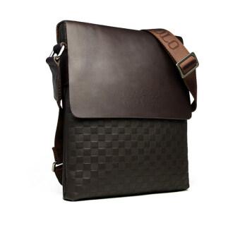คนกระเป๋าหนังกระเป๋าสะพายส่งธุรกิจกระเป๋าเอกสารกระเป๋าผู้ชาย