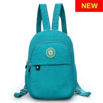 RICHCOCO กระเป๋าเป้สะพายหลัง Nylon leisure Backpack (K01-new Green)