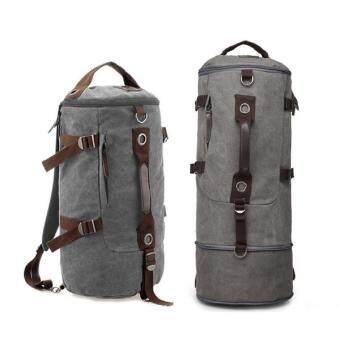 Man Rewards กระเป๋าสะพายผ้าแคนวาสหนาแบบยืดข้าง รุ่น MB-1028RSM (สีเทา)