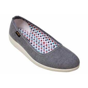 aerosoft รองเท้าผ้าใบสำหรับผู้หญิง รุ่น SL0301 (ดำ)