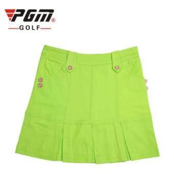 EXCEED LADY GOLF SKIRT GREEN COLOUR กระโปรงกอล์ฟ (QZ003) สีเขียว