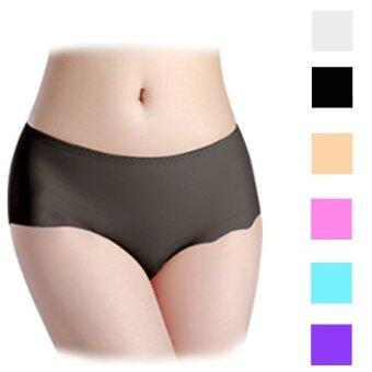 Hotdeal กางเกงชั้นในแนบเนื้อไร้ขอบ Seamless Thin Panties set 6 ชิ้น