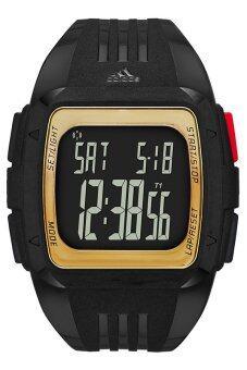 Adidas นาฬิกาข้อมือผู้ชาย สีดำ/ทอง สายเรซิ่น รุ่น ADP6135