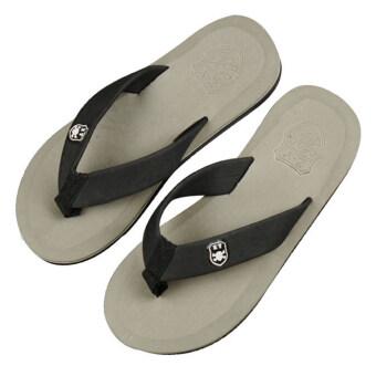 คนขายแฟชั่นร้อนร้อนกันน้ำชายหาดรองเท้าแตะรองเท้าสีเทา