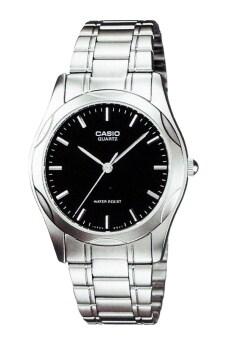Casio General Men's นาฬิกาข้อมือสุภาพบุรุษ รุ่น MTP-1275D-1ADF - Silver/Black