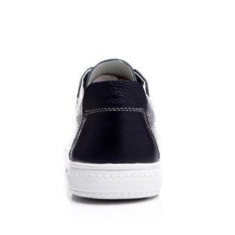 แฟชั่นผู้ชายหนังรองเท้าลำลองรองเท้าหนังวัวแท้ขับรถรองเท้ากีฬารองเท้ารองเท้าที่เดินท่องเที่ยว Men's Fashion Sneakers Causal Leather Shoes Genuine Leather Shoes Driving Shoes Sports Shoes Walking Travelling Shoes Blue