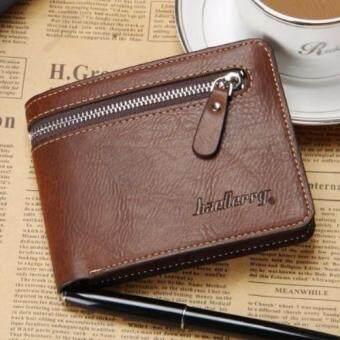 Matteo กระเป๋าเงิน กระเป๋าสตางค์ ผู้ชาย 3 ชั้น รุ่น Baellerry ( สีน้ำตาล )