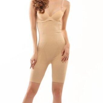 Perfect shape กางเกงเก็บพุง ลดพุง กระชับสัดส่วน(ยาวเหนือเข่าเน้นท่อนขาด้านบน) ยาวเต็มตัวถึงขอบบรา (สีเนื้อ)