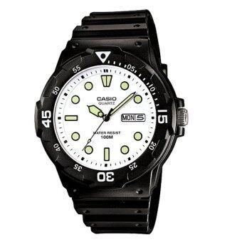 Casio Standard Watch นาฬิกาข้อมือ รุ่น MRW-200H-7E - สีดำ